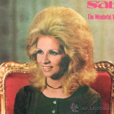 Discos de vinilo: THE WONDERFUL WORLD OF SABAH 1966 PARLOPHONE GVDL 7 GREECE. Lote 39029356