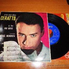 Discos de vinilo: RICARDO CERATTO Y LOS BIG BOYS BAILANDO EL TWIST EP DE VINILO ESPAÑOL 1963 RAFAEL MENDOZA 4 TEMAS . Lote 39031829