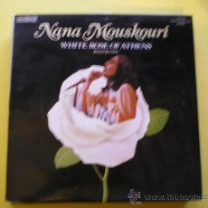 Discos de vinilo: NANA MOUSKOURI ( WHITE ROSE OF ATHENS ) SUNG IN GERMAN . LP 1967 ENGLAND. PEPETO. Lote 39037833
