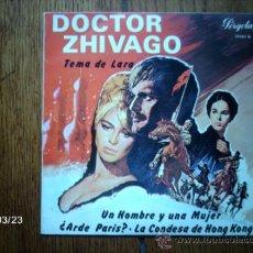 Discos de vinilo: PAUL MAURIAT Y SU ORQUESTA - TEMA DE LARA + 3. Lote 39042516