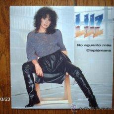 Discos de vinilo: LUZ - NO AGUANTO MÁS + CLEPTOMANÍA . Lote 39082789