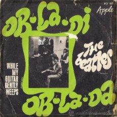 Discos de vinilo: THE BEATLES - OB-LA-DI OB-LA-DA // SINGLE FRANCÉS // APPLE RECORD // 1968. Lote 39033729