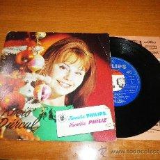 Discos de vinilo: ROCIO DURCAL NAVIDAD PHILIPS / ALEGRIA EN BELEN EP DE VINILO DEL AÑO 1965 CONTIENE 4 TEMAS. Lote 39037702
