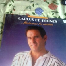 Discos de vinilo: CARLOS DE BORNOS ANDUVIMOS LOS CAMINOS. C3V. Lote 39038564