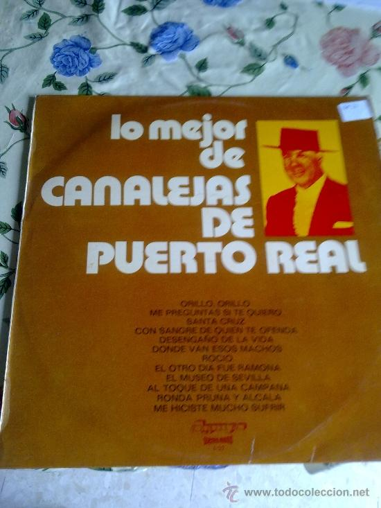 LO MEJOR DE CANALEJAS DE PUERTO REAL. C4V (Música - Discos - LP Vinilo - Otros estilos)