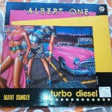 Discos de vinilo: ALBERT ONE TURBO DIESEL (12