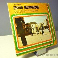 Discos de vinilo: LO MEJOR DE ENNIO MORRICONE LP . Lote 39051282
