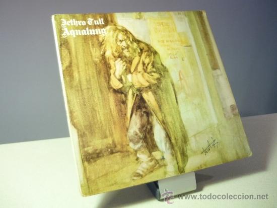 JETHRO TULL AQUALUNG LP (Musik - Vinyl-Schallplatten - EPs - Pop - Rock International der 70er Jahre)