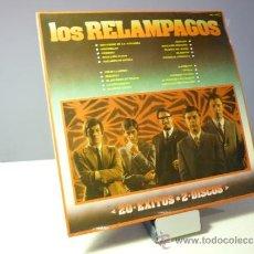 Discos de vinilo: LOS RELÁMPAGOS 20 ÉXITOS 2 LP. Lote 39051406