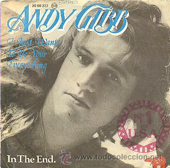 ANDY GIBB - I JUST WANT TO BE YOUR EVERYTHING - SINGLE RARO DE VINILO ESPAÑOL (Música - Discos - Singles Vinilo - Pop - Rock - Extranjero de los 70)