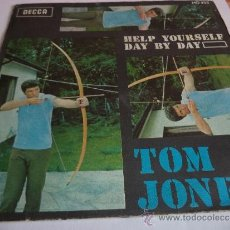 Discos de vinilo: TOM JONES.- .SINGLE 1968.....HELP YOURSELF + DAY BY DAY. Lote 39053720
