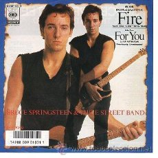 Discos de vinilo: BRUCE SPRINGSTEEN & THE STREET BAND 7' SG FIRE + FOR YOU, JAPAN EDIT. Lote 39057277