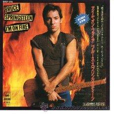 Discos de vinilo: BRUCE SPRINGSTEEN 7' SG I'M ON FIRE +JOHNNY BYE BYE, JAPAN EDIT. Lote 39057946