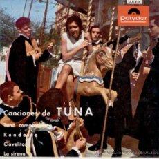 Discos de vinilo: TUNA FACULTAD CIENCIAS POLITICAS Y ECONOMICAS UNIVERSIDAD DE MADRID - EP 1963 EX / EX. Lote 39059033