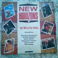 Discos de vinilo: VINILO NEW HORIZONS 2 (14 WORLD HITS). Lote 39059225