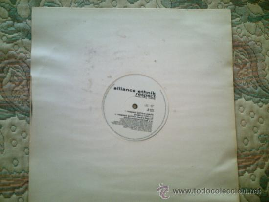 Discos de vinilo: VINILO ALLIANCE ETHNIK: RESPECT (MAXI SINGLE 45 R.P.M.)(SIN FUNDA) - Foto 1 - 39060401