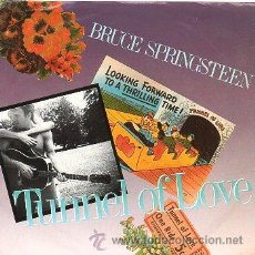Discos de vinilo: BRUCE SPRINGSTEEN 7' SG TUNNEL OF LOVE + TWO FOR THE ROAD, US EDIT. Lote 39060483