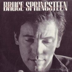 Discos de vinilo: BRUCE SPRINGSTEEN 7' SG BRILLANT DISGUISE + LUCKY MAN, SPANISH EDIT. Lote 39060717
