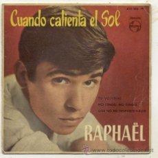 Discos de vinilo: EP 45 RPM / RAPHAEL // SOLO PORTADA. Lote 39061723