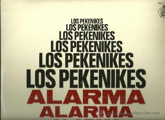 LOS PEKENIQUES LP SELLO HISPAVOX AÑO 1967 EDITADO EN ESPAÑA. CON ENCARTE (Música - Discos - LP Vinilo - Grupos Españoles 50 y 60)