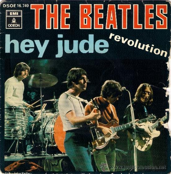 THE BEATLES - HEY JUDE / REVOLUTION - 1968 - EMI - ESPAÑA (Música - Discos - Singles Vinilo - Pop - Rock Extranjero de los 50 y 60)
