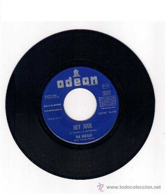 Discos de vinilo: The Beatles - Hey Jude / Revolution - 1968 - EMI - España - Foto 3 - 39070373