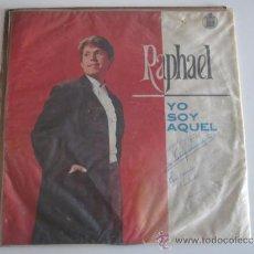 Discos de vinilo: RAPHAEL - YO SOY AQUEL LP URUGUAY. Lote 39071131