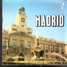 Discos de vinilo: MADRID. TABACO Y COLILLAS.RIO MANZANARES.ROSA DE MADRID.LA CALESERA + 1. ZAFIRO 1962.LIBRETO.FOTOS.. Lote 39205345
