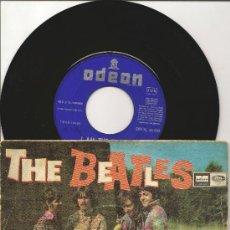 Discos de vinilo: THE BEATLES,- HELLO GOODBYE,- I AM THE WALRUS. Lote 39262917