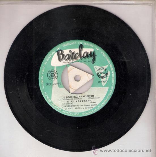 Discos de vinilo: Ben, Los Indios, Onesime Grosbois, Emil Stern. What is it.Besame mucho + 2.Barclay 1960.Todo fotos. - Foto 3 - 39208093