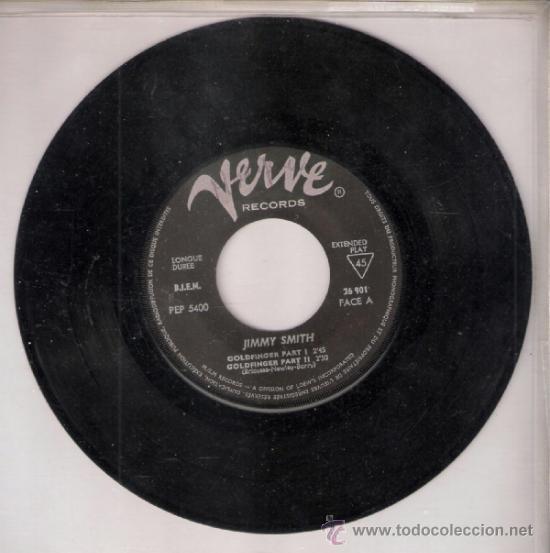 Discos de vinilo: Jimmy Smith.Goldfinger (Part I y II ).Comin home Johnny.The sermon.Verve Francia.Todo en fotos.Raro - Foto 4 - 39199979