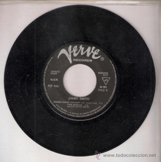 Discos de vinilo: Jimmy Smith.Goldfinger (Part I y II ).Comin home Johnny.The sermon.Verve Francia.Todo en fotos.Raro - Foto 2 - 39199979