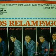 Discos de vinilo: LOS RELAMPAGOS EP DOS CRUCES. Lote 39082604