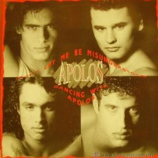 Discos de vinilo: APOLOS-DONT LET ME BE MISUNDERSTOOD + DANCING WITH APOLOS MAXI SINGLE VINILO 1991 SPAIN. Lote 39084211