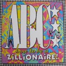 Discos de vinilo: LP - ABC - HOW TO BE A ZILLIONARE (USA, MERCURY RECORDS 1985). Lote 39090027