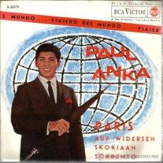 Discos de vinilo: EP PAUL ANKA : PARIS . Lote 39095397