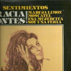 Discos de vinilo: GRACIA MONTES LP SELLO COLUMBIA EDITADO EN ESPAÑA AÑO 1981.. Lote 39096215