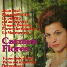Discos de vinilo: CARMEN FLORES LP SELLO IMPACTO EDITADO EN ESPAÑA AÑO 1974.. Lote 39096249