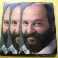 Discos de vinilo: JERONIMO GRANDA /UN KILO DE VERSOS ASTURIAS LP PROMO RCA 82 CON HOJA PROMOCIONAL PEPETO. Lote 111222040