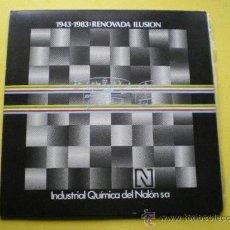 Discos de vinilo: VARIOS ARTISTAS ASTURIANOS /1943-1983 RENOVADA ILUSION / INDUSTRIA QUIMICA NALON(ASTURIAS /NUMERADA. Lote 39114469