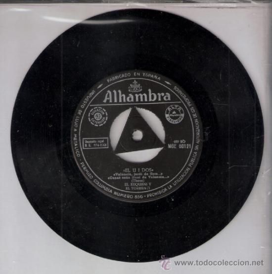 Discos de vinilo: Eñ Requeni y El torrenti.Chiquet de Benaguacil y La Blanqueta. Alhambra 1964. Todo en fotos. - Foto 2 - 39190534