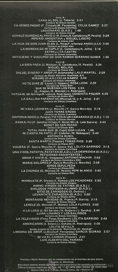 Discos de vinilo: BANDASONORA ORIGINAL DE LA PELICULA CANCIONES PARA DESPUES DE UNA GUERRA... - Foto 2 - 39123513