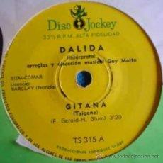 Discos de vinilo: SIETE SENCILLOS ARGENTINOS DE DALIDA. Lote 152830248