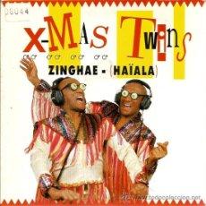 Discos de vinilo: SINGLE X-MAS TWINS : ZINGHAE - HAIALA . Lote 39131529