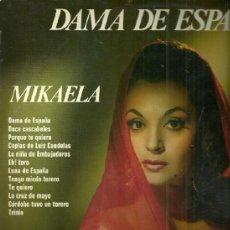 Discos de vinilo: MIKAELA LP SELLO OLYMPO EDITADO EN ESPAÑA AÑO 1974. Lote 39138347