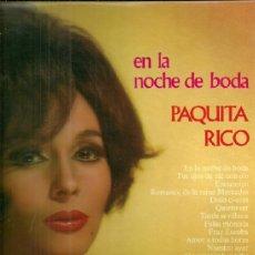 Discos de vinilo: PAQUITA RICO LP SELLO OLYMPO EDITADO EN ESPAÑA AÑO 1974. Lote 39138535