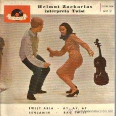 Discos de vinilo: EP HELMUT ZACHARIAS AND HIS TWIST FIDDLE : TWIST ARIA + 3 . Lote 39138764