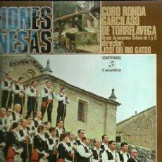 Discos de vinilo: CORO RONDA GARCILASO DE TORRELAVEGA SANTANDER LP SELLO COLUMBIA EDITADO EN ESPAÑA AÑO 1971. Lote 39142574