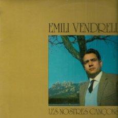 Discos de vinilo: EMILI VENDRELL LP SELLO OLYMPO EDITADO EN ESPAÑA AÑO 1974. Lote 39142606