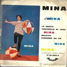 Discos de vinilo: EP MINA : LA VERITA . Lote 39160107